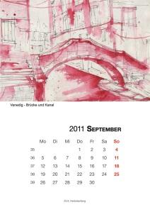 Kalenderblatt September - (c) Frank Hess